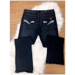 Joe's Jeans with Swarovski crystals, size 31